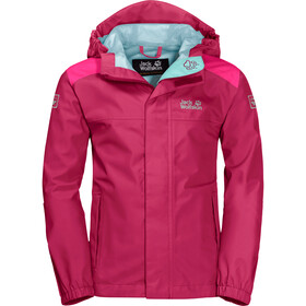 Jack Wolfskin Oak Creek Jas Kinderen, azalea red